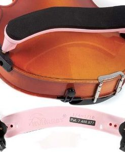 Everest Light Pink ES Series 1/4-1/10 Violin Adjustable Shoulder Rest